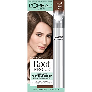 Between colorings, those pesky grays can make a comeback as your hair grows. Knock them out with L'Oreal Paris Root Rescue Permanent Dark Blonde Hair Color, an ammonia-free formula that will match your shade flawlessly/5().