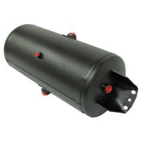 VELVAC 035104 Air Tank,Black Powder Coat,125 psi