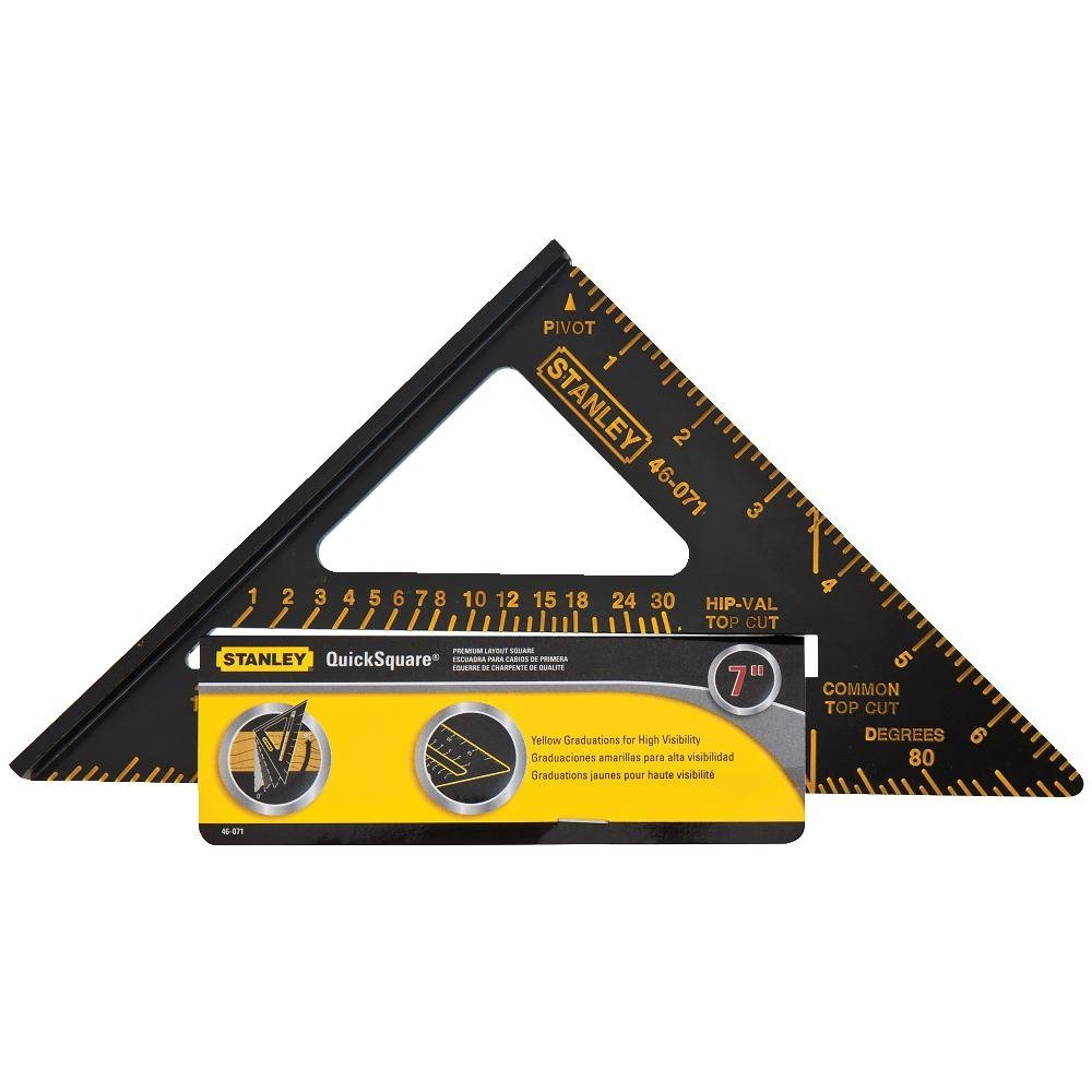 "Stanley 46-071 Premium Quick Square Layout Tool, 7"" by"