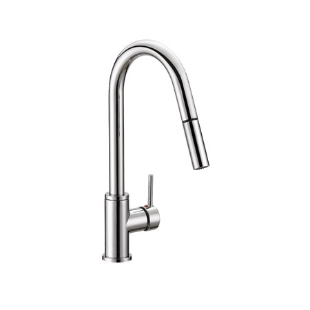 Design House 548297 Eastport Pull-Down Kitchen Faucet, Polished Chrome