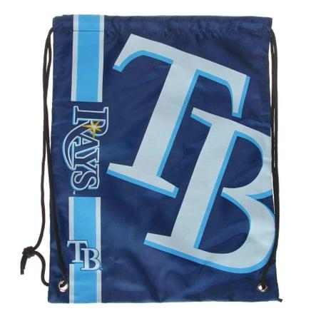 Logo Drawstring Backpack - Tampa Bay Rays Big Logo Drawstring Backpack - No Size