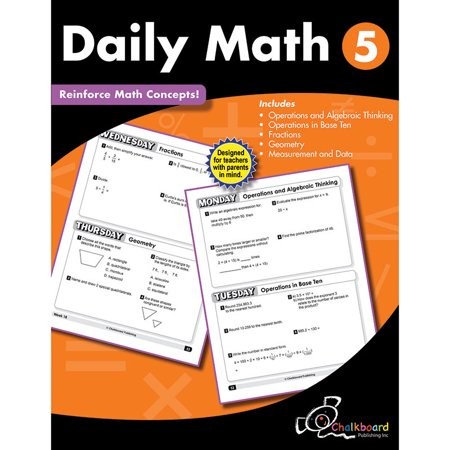 Gr5 Daily Math Workbook - image 1 of 1