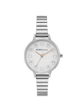 Product Image BCBG GENERATION LADIES CLASSIC ANALOG 3 HANDS DISPLAY SILVER CASE SILVER DIAL SILVER BRACELET GN50726003