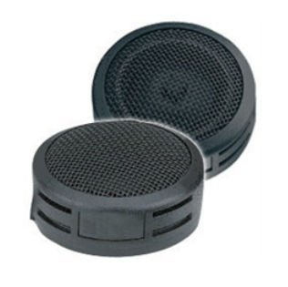 "Q Power QT1 1"" Dome Tweeter 250 Watts Max Black - Blister Packaging"