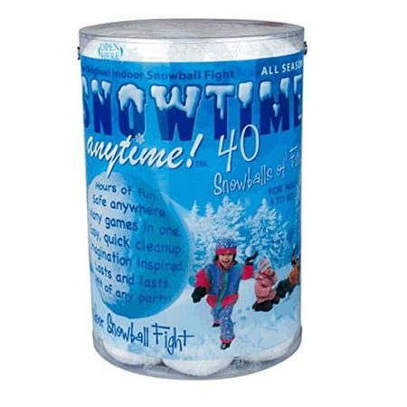 Indoor Snowballs - 40 pack](Indoor Snowball)