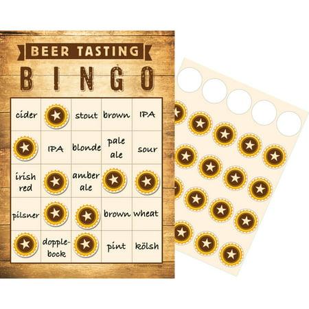 Cheers & Beers Pub Crawl Bingo, 10-Pack (Pub Crawl Outfit Ideas)