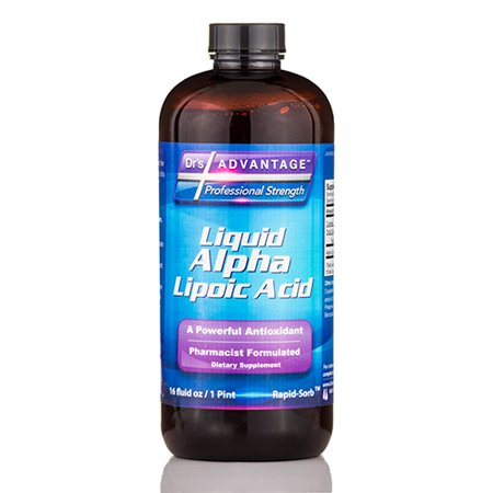Liquid Alpha Lipoic Acid - 16 fl. oz (1 Pint) by Dr's (Acid Liquid)