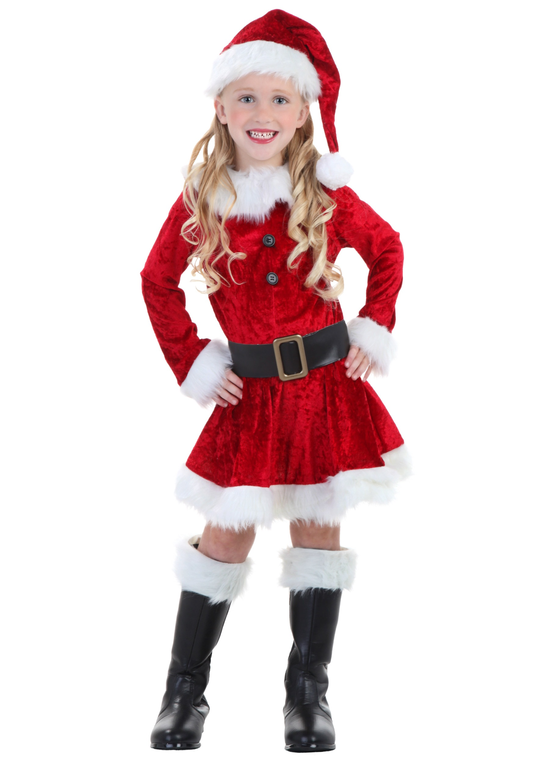 Mrs Claus tutu dress age 3-5 years with crown