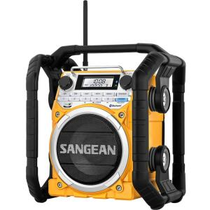 Sangean U-4 U4 Am/fm-rds/weather Alert Ultrarugged Digital Tuning Radio With Bluetooth