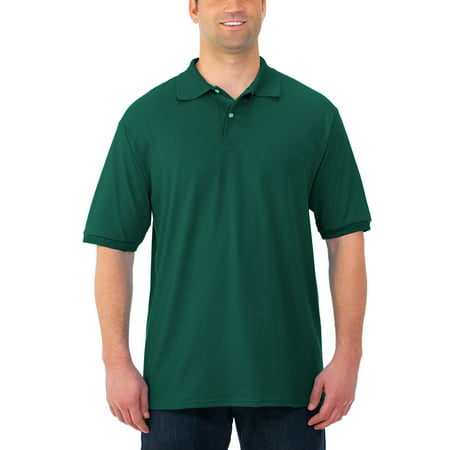 Jerzees Men's Stain Resistant Short Sleeve Polo