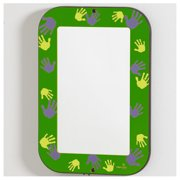 Playscapes Green Hands On Wall Mirror