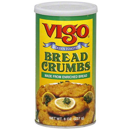 Vigo Bread Crumbs, 8 oz (Pack of 12) by Generic