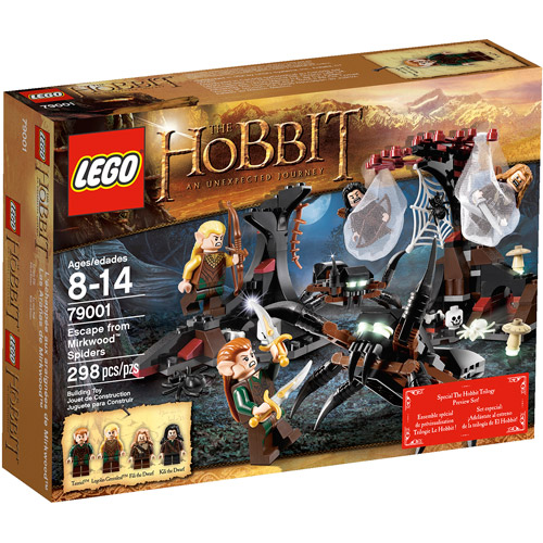 LEGO Hobbit Escape from Mirkwood Spiders Play Set