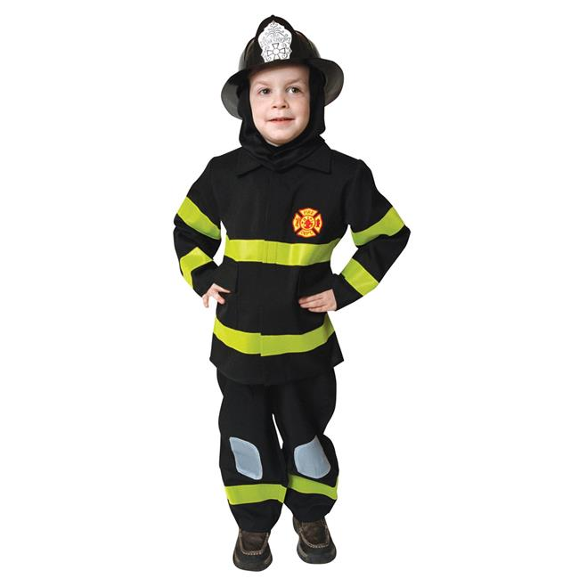 Costumes For All Occasions Up203Md Fire Fighter No Hat Md 8 To 10