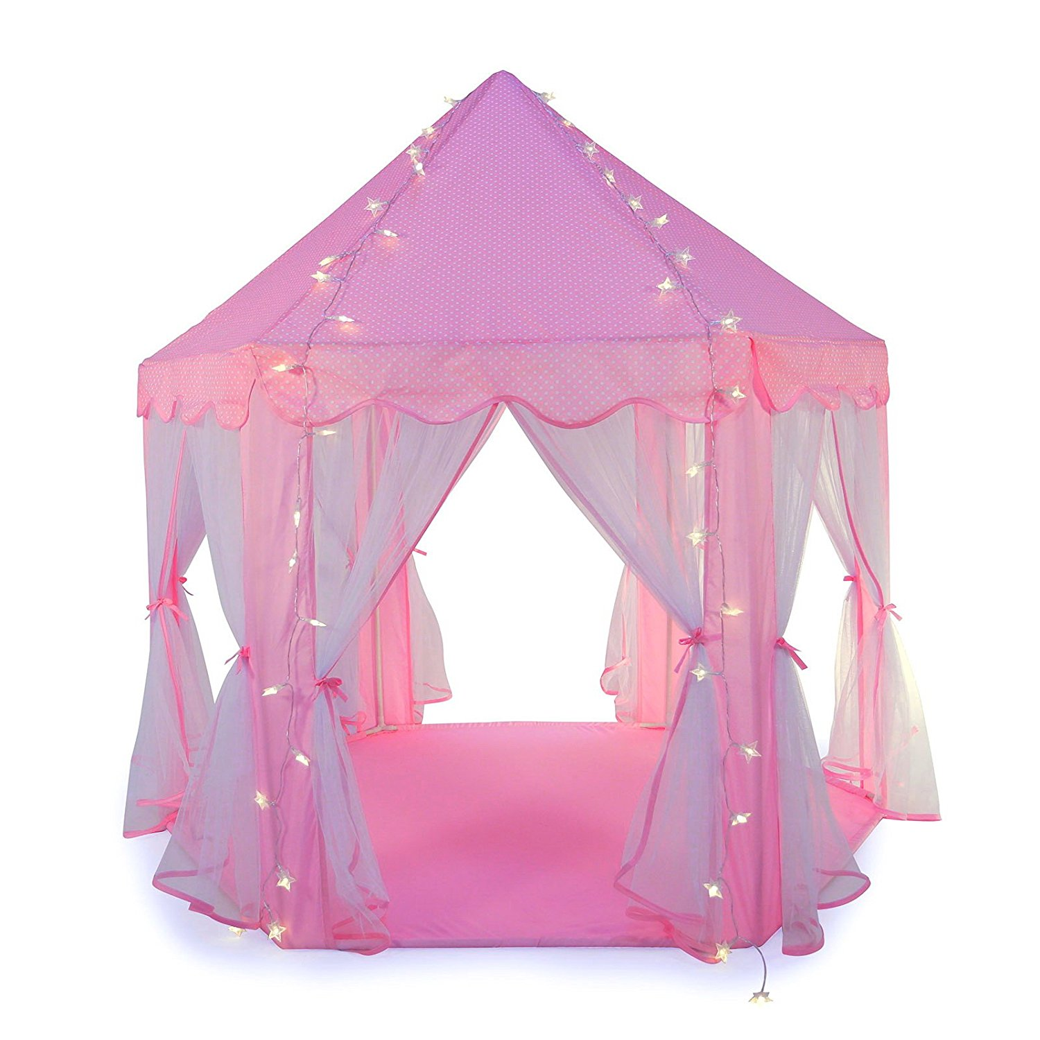 Truedays Girls Princess Castle Play Tent Large Playhouse ...
