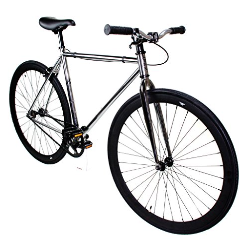 Zycle Fix Fixie Single Speed Fixie Road Bike (Diamond II, 55)