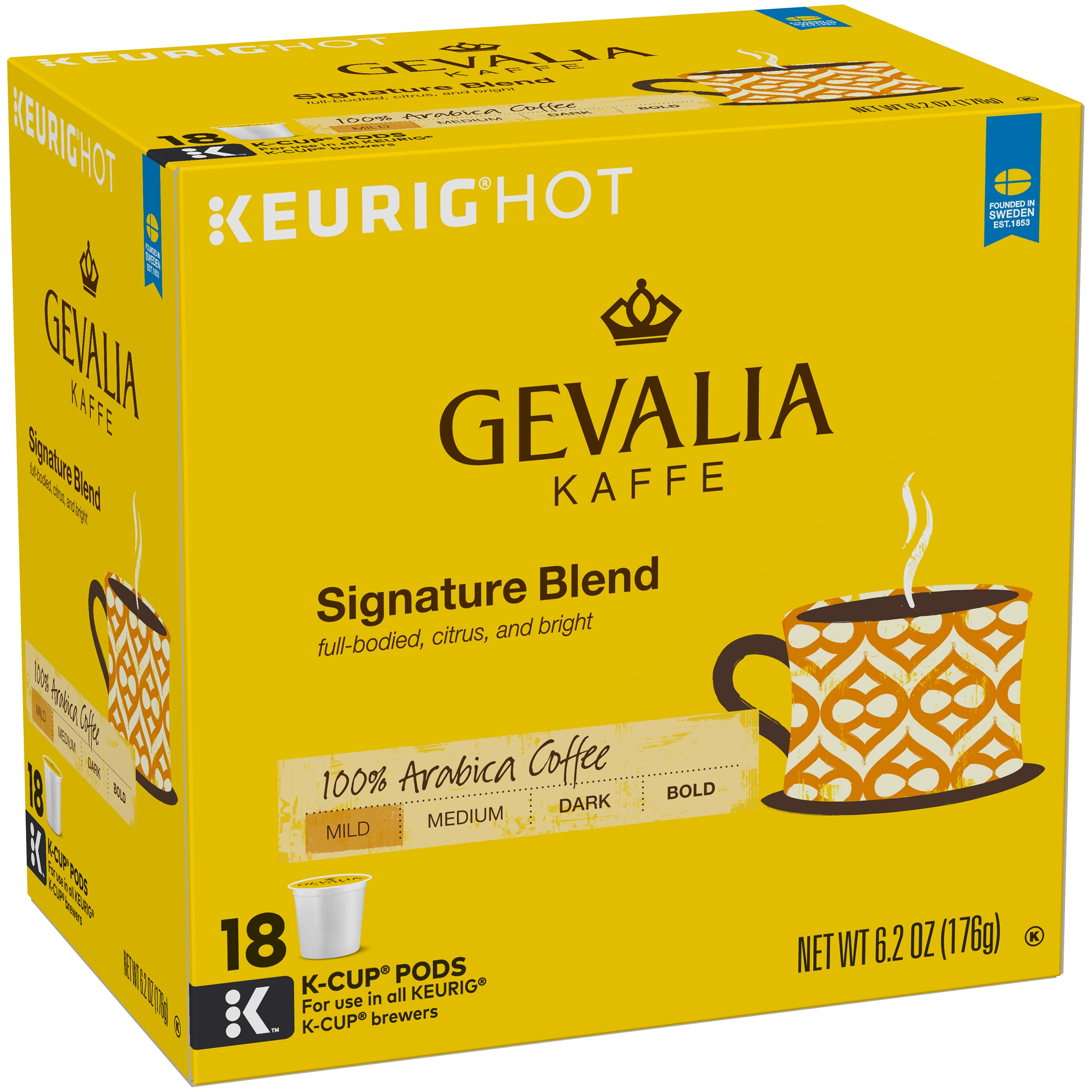 Gevalia Signature Blend Coffee K-Cup® Pods 18 ct Box