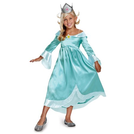 Nintendo Super Mario Bros Princess Rosalina Girls Classic Costume-M for $<!---->