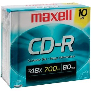 Maxell 622860 648210 80-Minute 700 Mb Cd-R by Maxell