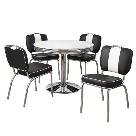 Raleigh Retro 5-piece Dining Set, Multiple Colors ()