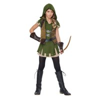 Girls Miss Robin Hood Halloween Costume