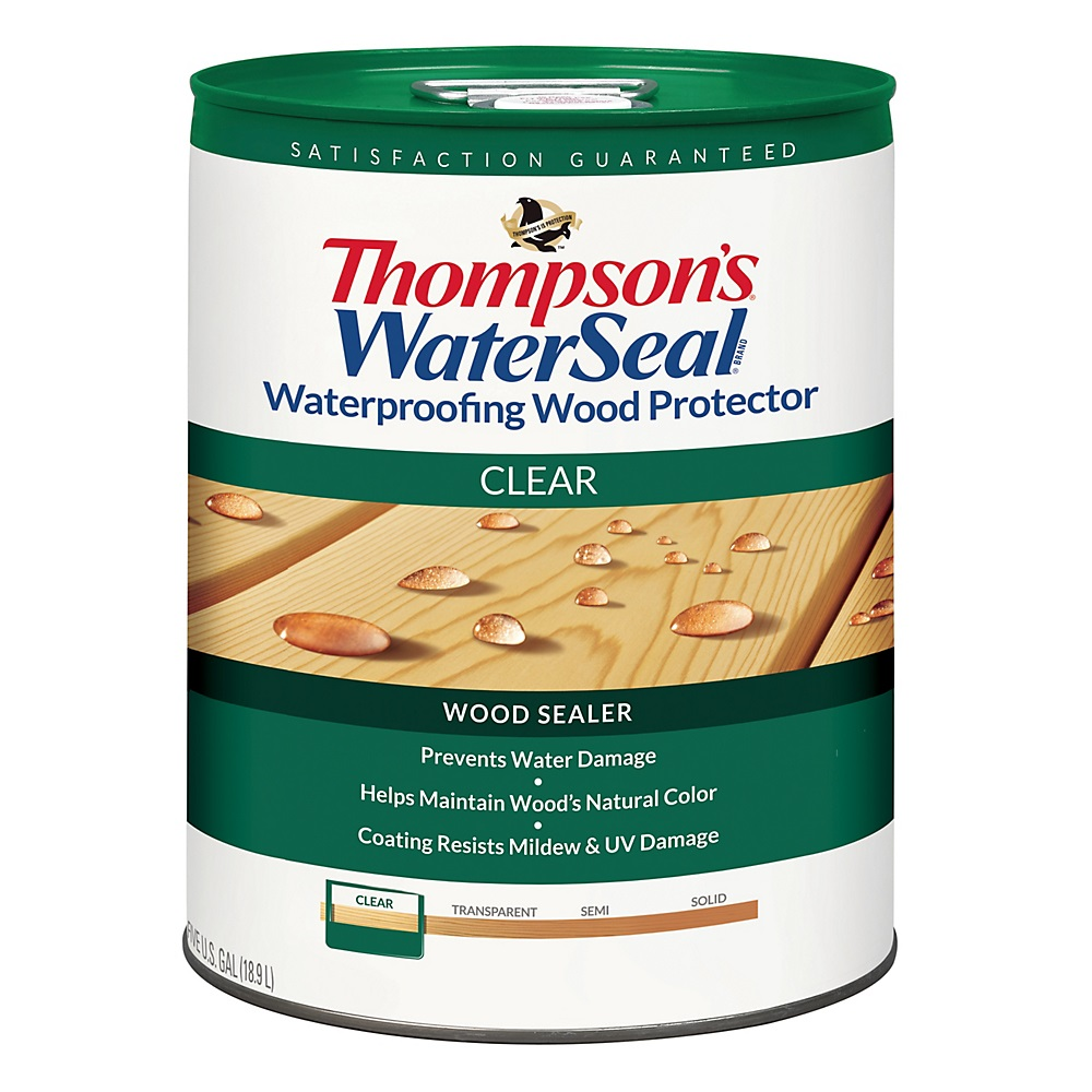 Thompson S Waterseal Wood Protector Clear 5 Gallon