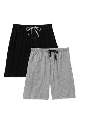 Hanes Men's 2-Pack Knit Sleep Jam Short