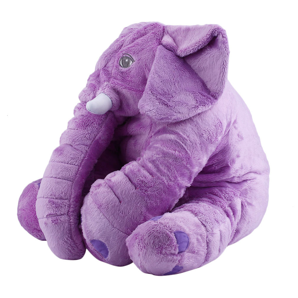 Stuffed Animal Cushion Kids Baby Sleeping Soft Pillow Toy Cute Elephant Cotton