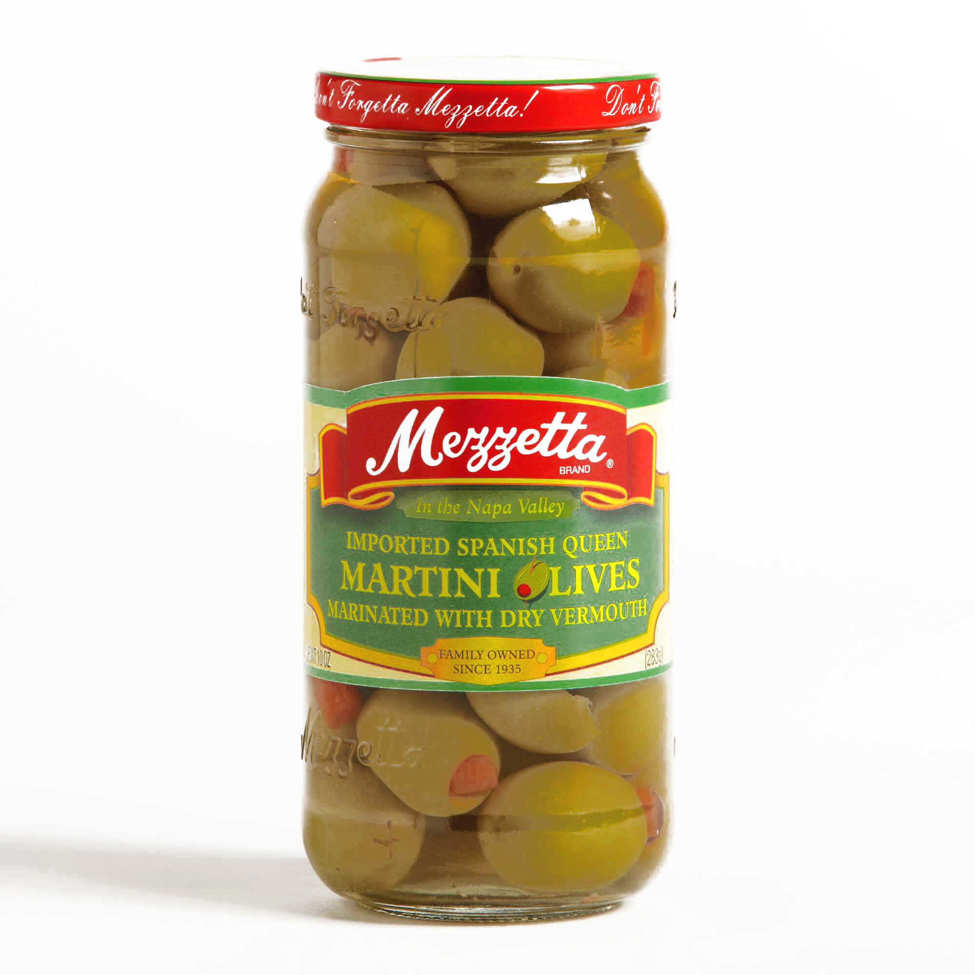Mezzetta Martini Olives 10 oz each (1 Item Per Order, not per case) by