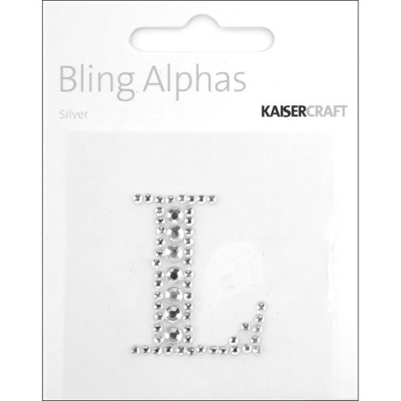 Bling Letters (Bling Alphas Self-Adhesive Rhinestone Letter 1.375