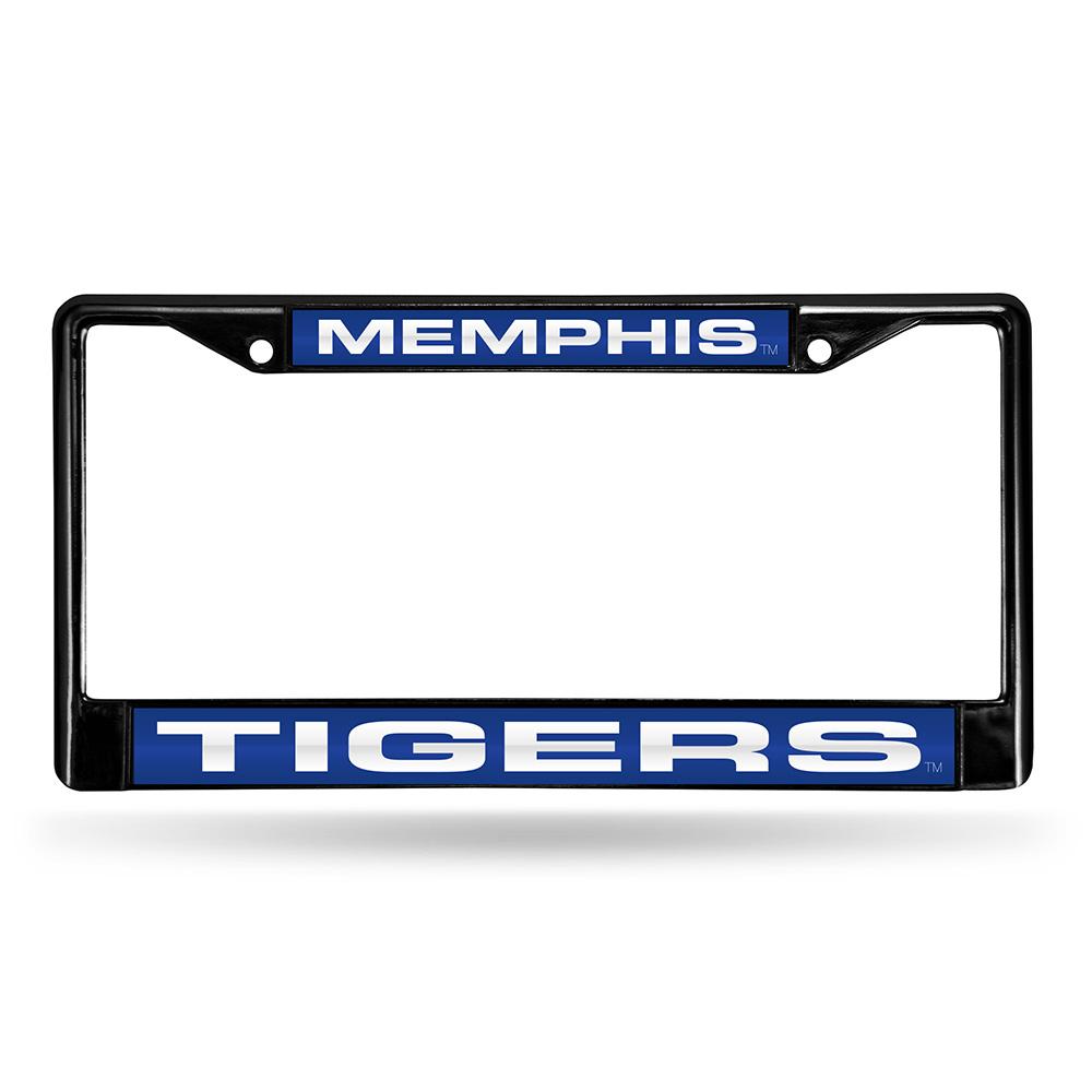Memphis Tigers NCAA Laser Cut Black License Plate Frame