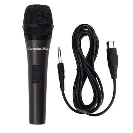 Karaoke USA M189 Professional Dynamic Microphone (Detachable Cord)
