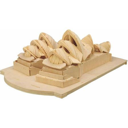 Sydney Opera House Wooden Puzzle