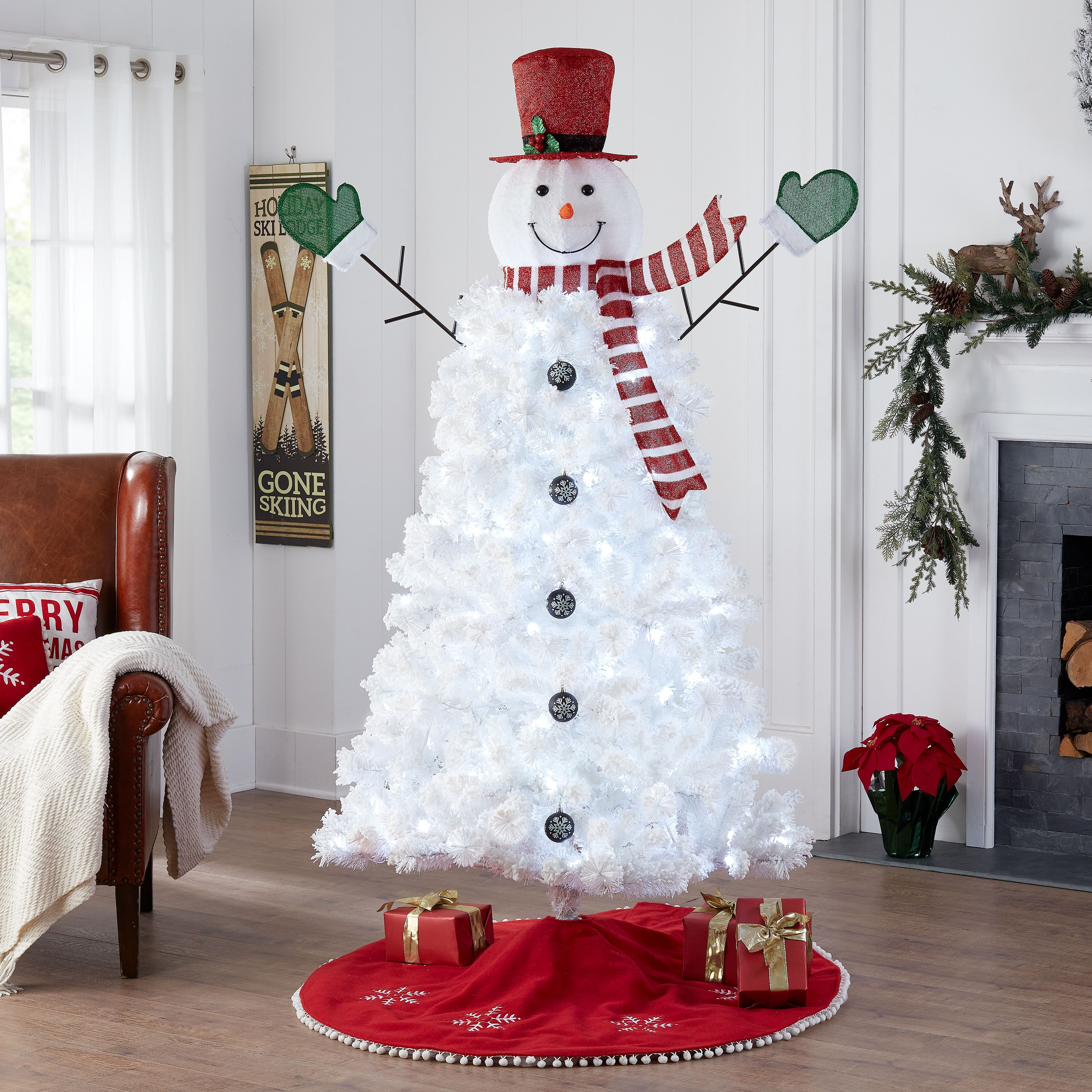 Foldable//Pop Up Decorations Snowman for Xmas Indoor Outdoor Decor Vanthylit Pre-lit Collapible Christmas Snowman Lights 6FT 120LT Warm White with Twinkle Lights