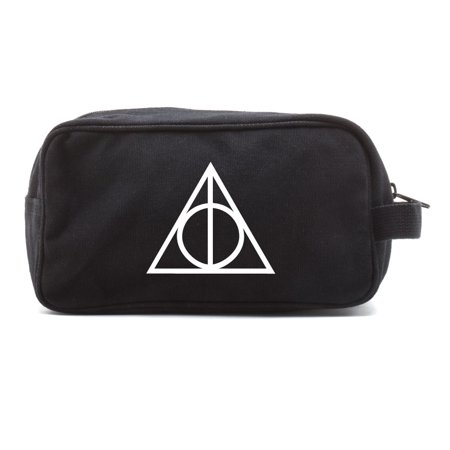 Harry Potter Deathly Hallows Logo Toiletry Bag Cosmetics Travel Kit Makeup
