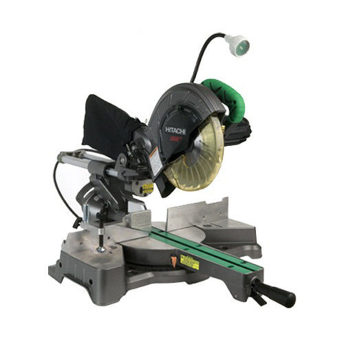 Hitachi C8FSHE 8-1 2 in. Sliding Compound Miter Saw with Laser and Light by Hitachi