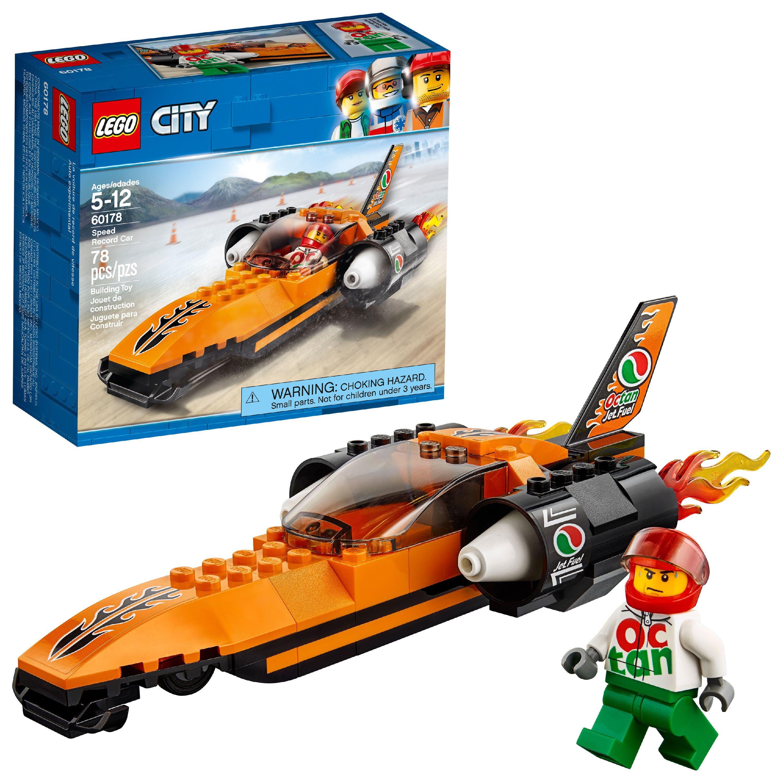 Lego Set78 Car City Pieces Record 60178 Building Speed 67yvgYfb