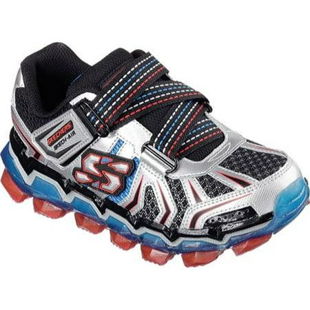6b250dea368f Skechers - SKECHERS KIDS Boy's Skech Air 2.0 95141L (Little Kid/Big Kid)  Silver/Red/Blue Shoe 2.5 Little Kid M - Walmart.com