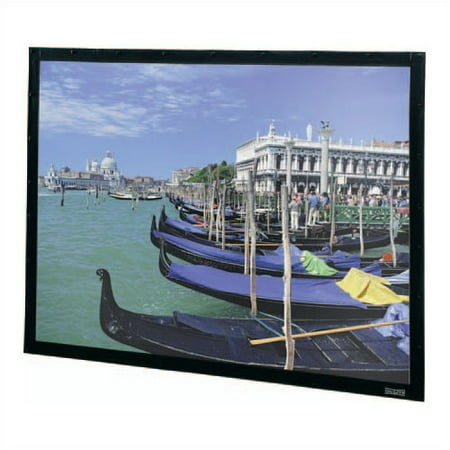 Da-Lite Perm-Wall Black Fixed Frame Projection Screen