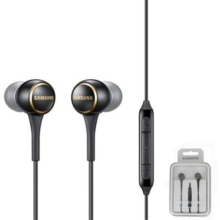 Samsung SA-EO-IG935BWEGWW 3.5mm Premium In-Ear Stereo Dual Dynamic Speaker with Remote & Microphone - White - image 1 de 1