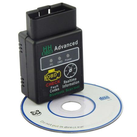 OBD2 ELM327 HH V2.1 Bluetooth Car Scanner Android Torque Auto Diagnostic Tool