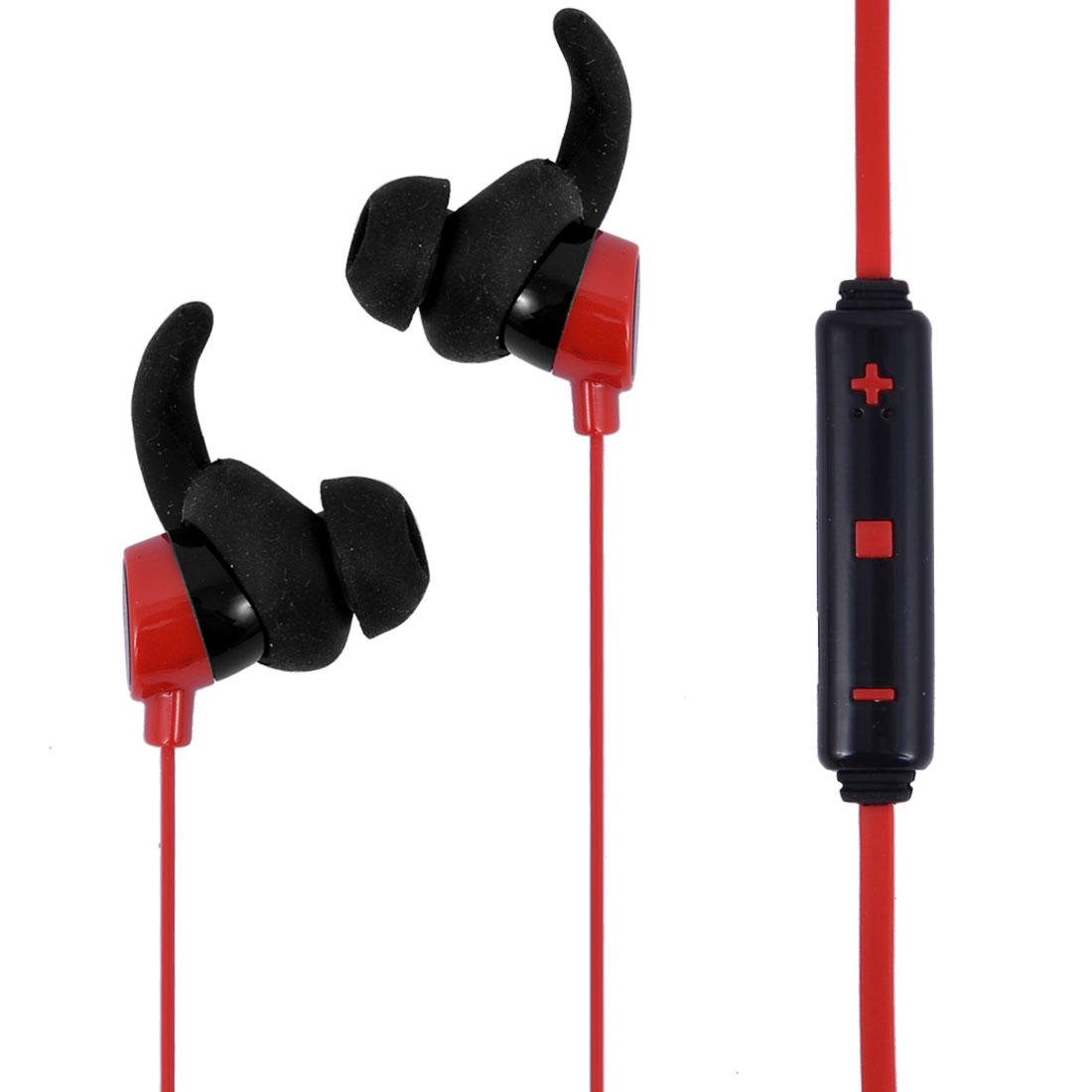 bluetooth 4.1 Wireless Headphone In-ear Earbuds Headset Mic Red for Sport
