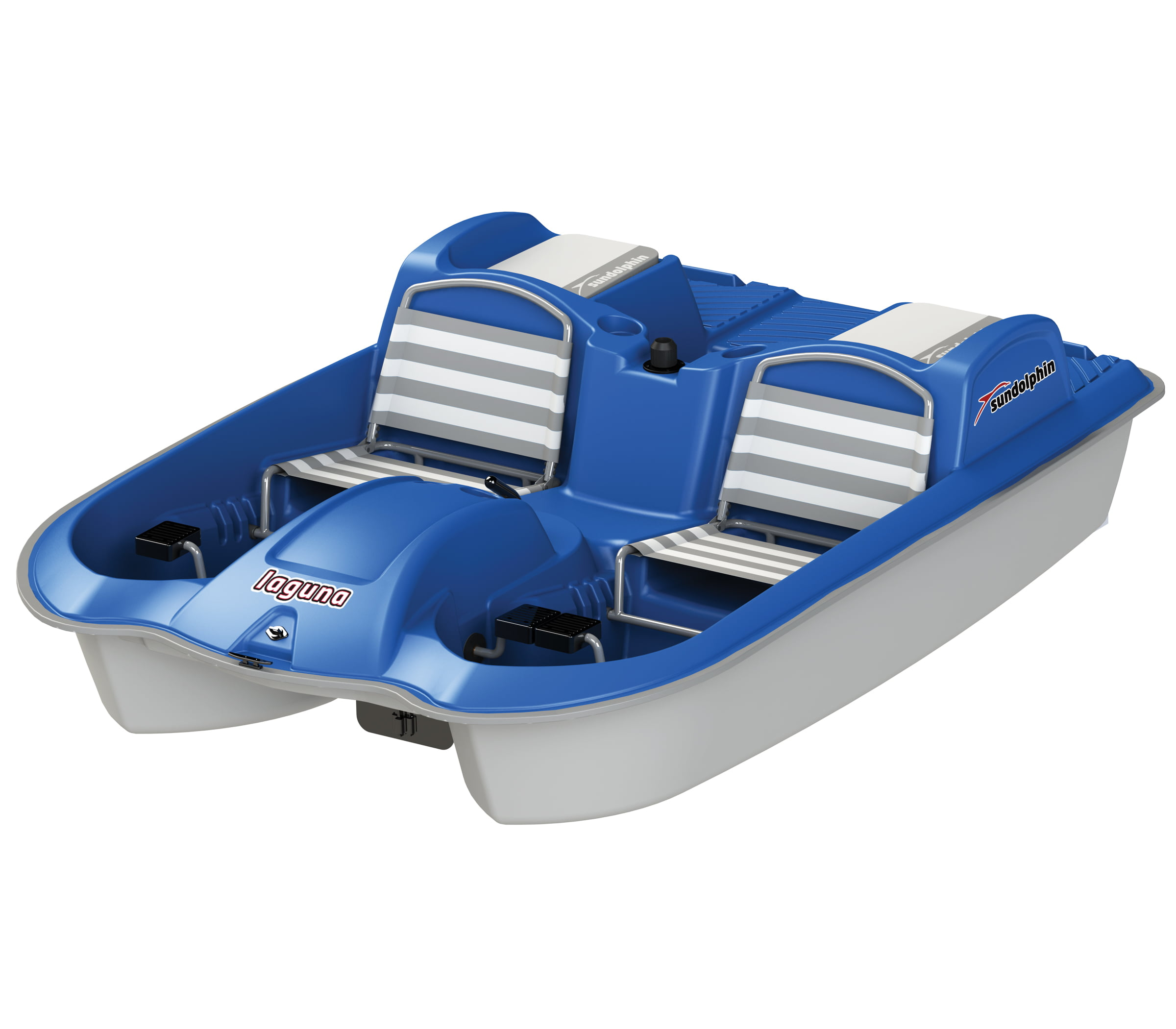 Click here to buy Sun Dolphin Laguna 5 Seat Recreational Pedal Boat by KL Outdoor.