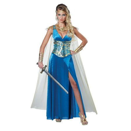 Women's Sexy Warrior Queen Halloween Costume](Secy Halloween Costumes)
