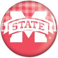"Mississippi State Bulldogs WinCraft 3"" Fashion Pastel Pin - Pink"