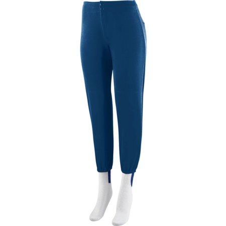 828 Ladies Low Rise Softball Pant NAVY M
