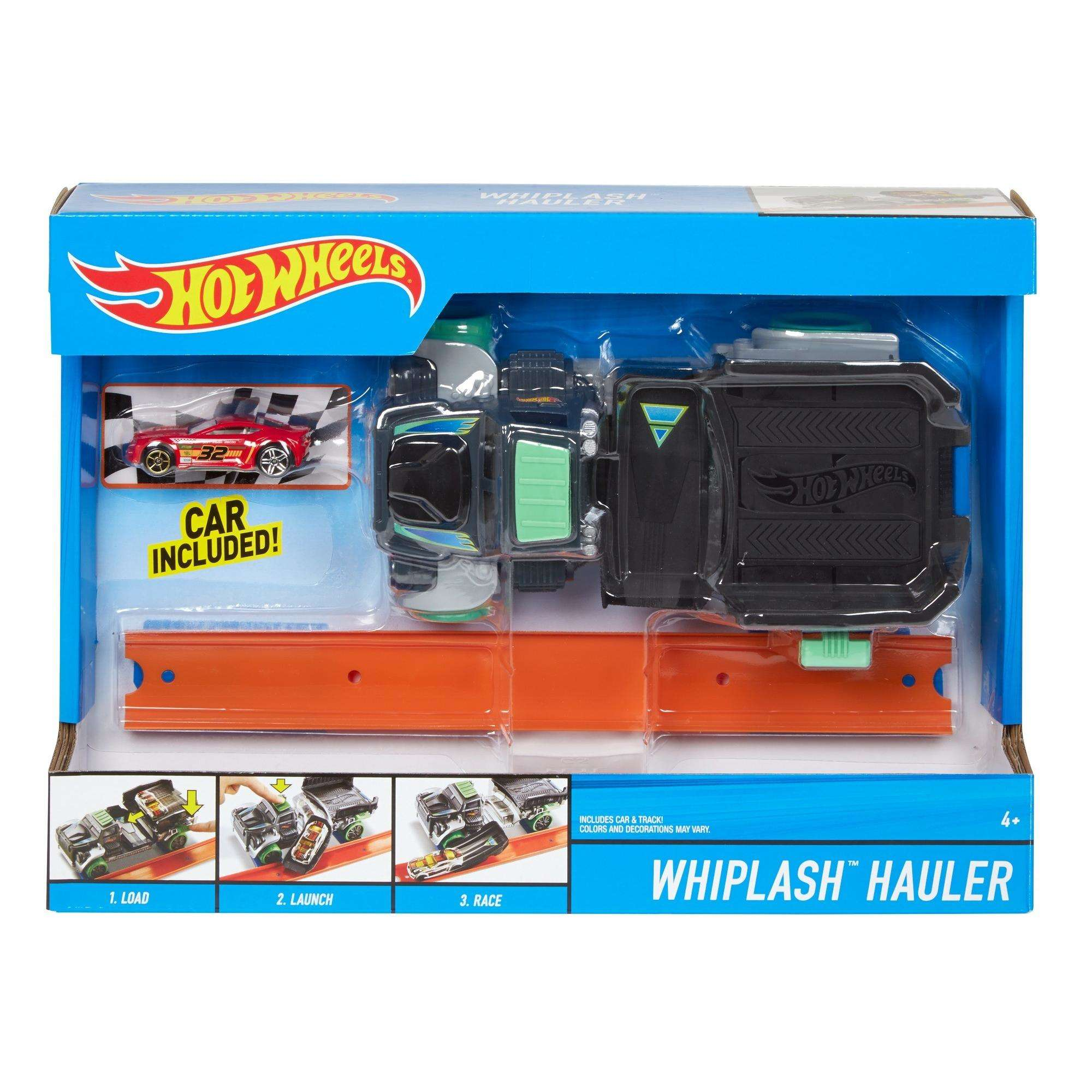 Hot Wheels Whiplash Hauler Vehicle by Mattel