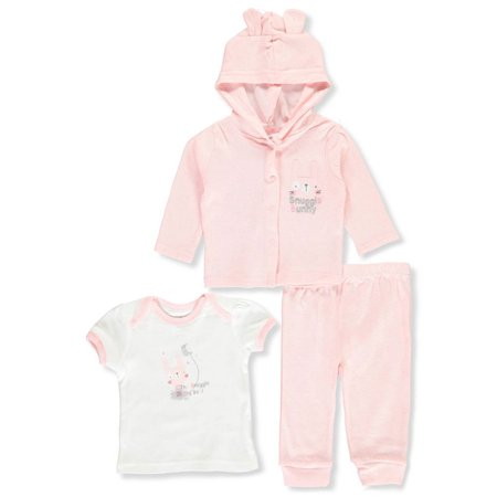 Duck Duck Goose Baby Girls' 3-Piece Layette Set](Duck Outfit)