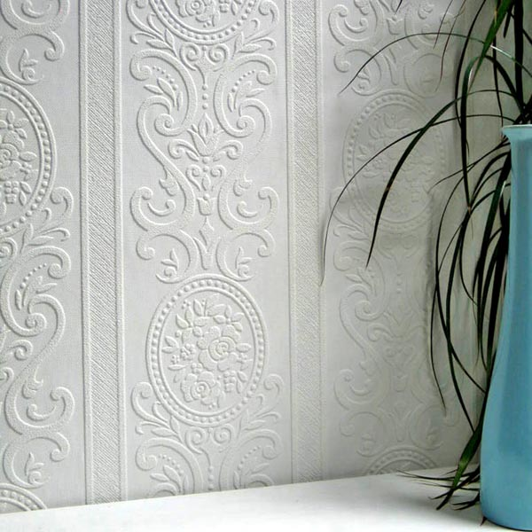 Brewster Ada Paintable Textured Vinyl Wallpaper