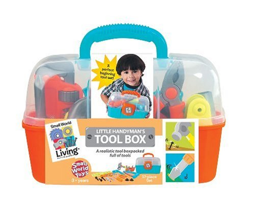 Living Little Handyman's Tool Box 17 Pc. Playset17-piece set includes a hacksaw, 3-in-1 tool with mini saw,... by
